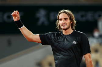 Stefanos Tsitsipas of Greece will next face Russian 13th seed Andrey Rublev.