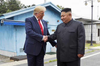 Donald Trump famously met with North Korean dictator Kim Jong-un, but the rogue nation's nuclear threat remains unresolved.