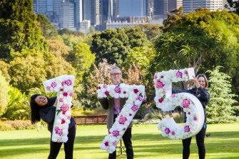 Botanic Gardens staff celebrate 175 years.