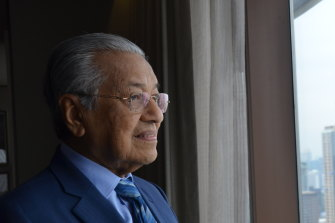 Mahathir Mohamad, who was in Bangkok for the ASEAN and East Asia summit meetings, says Australia will be more Asian than European one day.