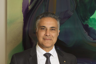 Latitude Financial CEO Ahmed Fahour said the company was eyeing the big bank's dominance in consumer finance.
