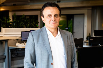 AstraZeneca chief executive officer Pascal Soriot.