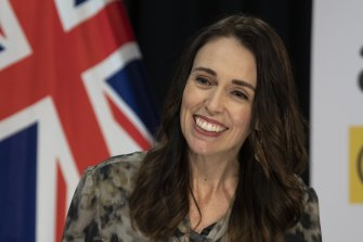 Popular: Prime Minister of New Zealand Jacinda Ardern.