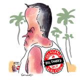 Former Labor leader Bill Shorten is holidaying in Bali. Illustration: Matt Golding