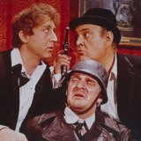 Gene Wilder, left, Kenneth Mars, front, and Zero Mostel, Kenneth Mars in the 1968 film <i>The Producers</i>.