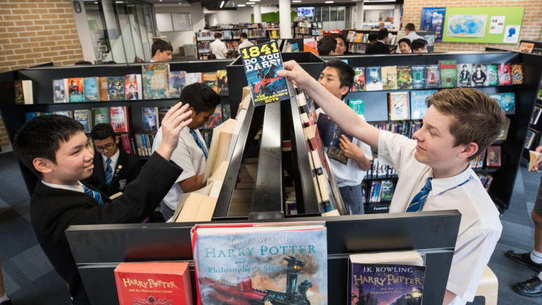 Mazenod College has invested a lot of resources into its new library.