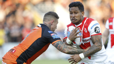 Sacked: Ben Barba has had his contract torn up.