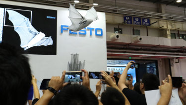 Bionic Flying Fox, designed by German based automation technology company Festo.