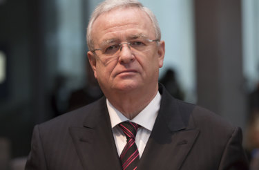 Martin Winterkorn, the former chief executive officer of Volkswagen AG.