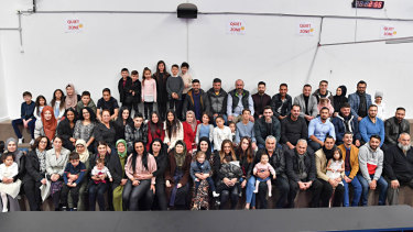 More than 50 members of the Turkish Cypriot family gathered in Campbellfield to celebrate the end of Ramadan.