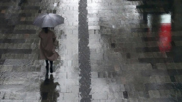Rain will continue to fall in Sydney throughout Friday.