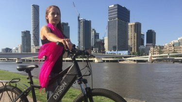 Bicycle Queensland chief executive Anne Savage is among cyclists asking why Brisbane's new bridge will not include cyclists.