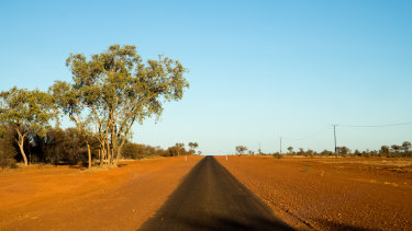 The desert near Alice Springs is the perfect climate to store what?