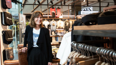 Alice Barbery, Universal Store's chief executive, has been buoyed by the resilience of youngsters.