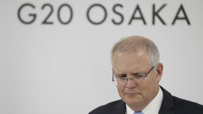 Scott Morrison ramps up regional trade deal after G20 warning on economy