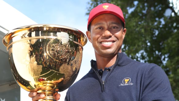 US driven by Presidents Cup defeat in Melbourne: Woods