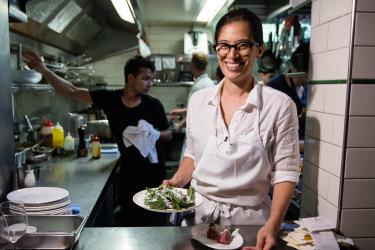 Chef Trisha Greentree.