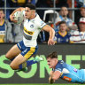Titans hit hard by injury as Eels coast home to start NRL's first weekend away