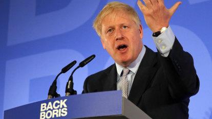 'Plain spoken' Boris promises a 'sizzling syzygy' of Conservatism as PM