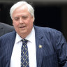 Clive Palmer ordered to pay $102 million to Queensland Nickel liquidators
