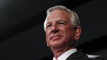 Republican Senator-elect Tommy Tuberville: will he help Trump gum up the election's certification in Congress?