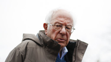 After leading in the early contests, Bernie Sanders' presidential hopes are dimming.
