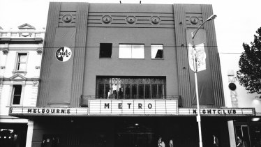 The Metro nightclub in its heyday.