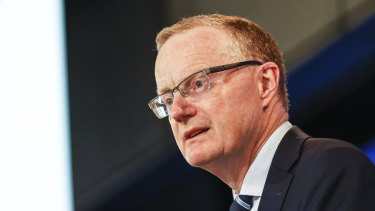 RBA governor Philip Lowe says there are still few signs of a lift wages.