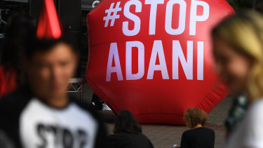 The Adani coal mine in central Queensland has drawn staunch public opposition.