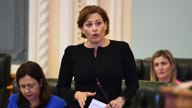 The Liberal National Party will tell voters to put the Greens ahead of Deputy Premier Jackie Trad at the October 2020 state election.