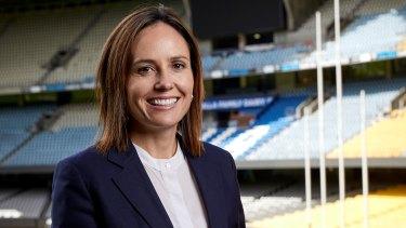 Incoming Netball Australia chief executive Kelly Ryan.