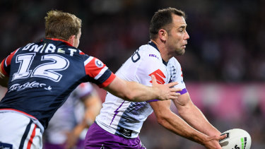 Cameron Smith has been laid low by a virus since Melbourne's loss to the Roosters.