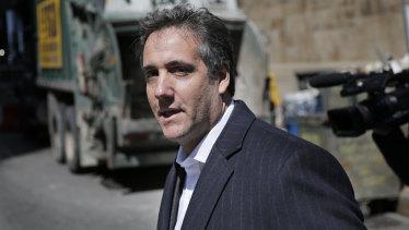 Donald Trump's personal attorney Michael Cohen.
