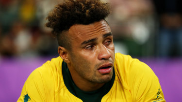 Will Genia was inconsolable.