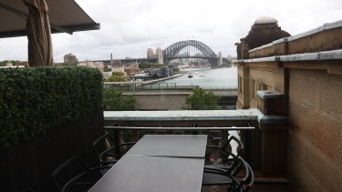 Cafe Sydney, boasting a direct view of the Harbour Bridge, has lost half its New Year's Eve bookings.