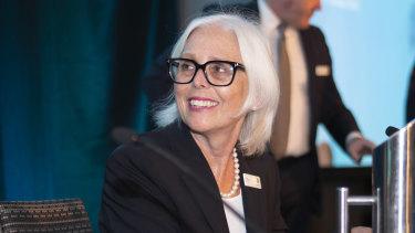 Healthscope chairman Paula Dwyer.