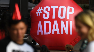 Adani's mine has become a lightning rod for environmental activists.