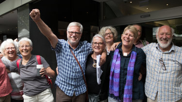 Gloucester residents were jubilant after their win in the Land and Environment Court.