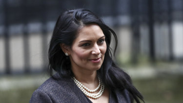 """""""Every woman should feel safe to walk on our streets without fear of harassment or violence"""": Priti Patel, the UK Home Secretary."""
