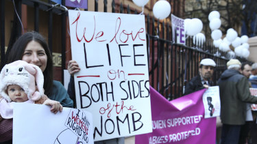 Protesters are planning to rally outside NSW Parliament each day as the bill to decriminalise abortion is debated.