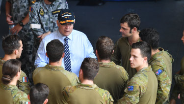PM Scott Morrison says Australia's special forces need cutting-edge equipment to succeed in their operations.