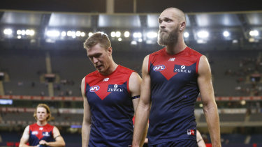 The Demons have struggled this season - and so has Tom McDonald.