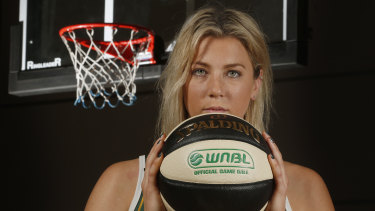 Long time coming: Sara Blicavs returns to the WNBL on Sunday.