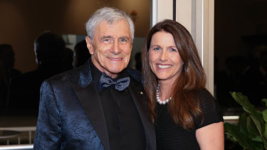 Media mogul Kerry Stokes and his wife Christine Simpson Stokes were both granted exemptions to WA's tough hotel quarantine rules.