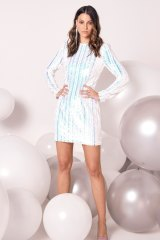 The 'Blondie' dress by Elliatt is one of the most popular rentals for New Year's Eve at Her Wardrobe.