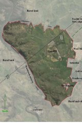 Maps supplied to NSW planning authorities show the vast cross-border development.