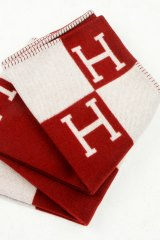 The Hermes blanket, which has become the benchmark for luxury throws.