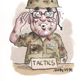 Michael Daley was back in Labor's parliamentary tactics meeting.