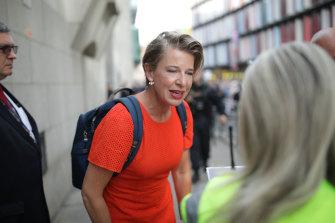Katie Hopkins in London in 2019.