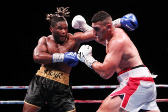 The Gallen fight was Huni's second in three weeks after he beat Christian Tsoye on May 26.